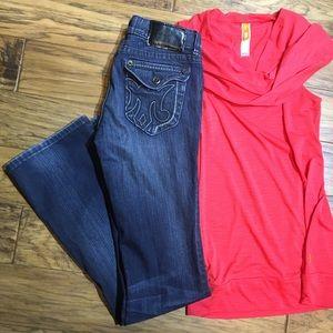 MEK Noida Slim Boot Jeans